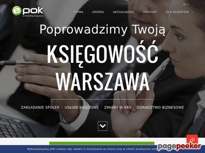 E-pok - usługi księgowe