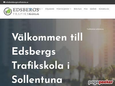 Edsbergs Trafikskola AB - http://www.edsbergstrafikskola.se