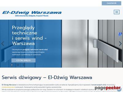 EL-DŹWIG S.C. konserwacja wind Warszawa