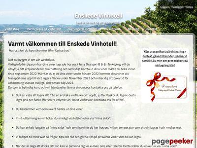 Enskede Vinhotell - http://www.enskede-vinhotell.com