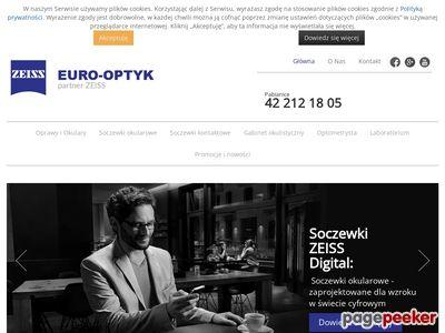 EURO-OPTYK okulary dwuogniskowe Pabianice