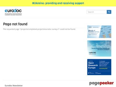http://www.eurodoc.net/projects/completed-projects/eurodoc-survey-i/