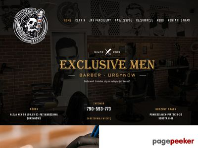 Exclusive Men - Męski Salon Fryzjerski