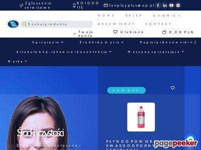 Środki czystości - Fair Play Plus