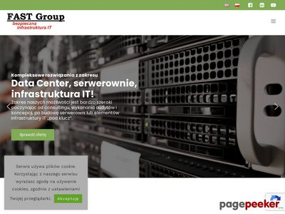 Data center od firmy FAST Group!