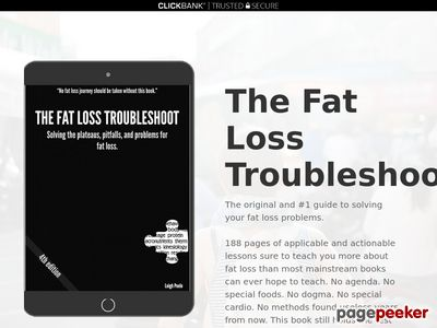 The Fat Loss Troubleshoot - Solving All Deficit Questions 1