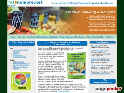 Recipes for the 6 Week Body Makeover Weight Loss Program www