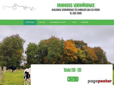 Falkenbergs Veterinärservice HB  - http://www.fbgvets.se