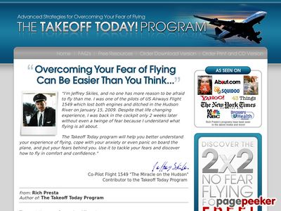 Fear of Flying Phobia | Takeoff Today! Get Your FREE Fear of Flying Report and Overcome Your Flying Anxiety 1