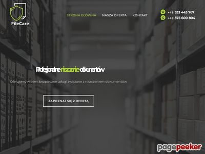 Niszczenie dokumentów Katowice