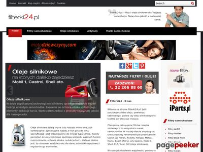 Serwis o filtrach samochodowych – Filterki24.pl