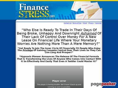 Finance Stress Page 1