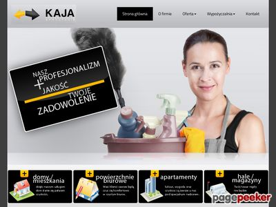 Mycie okien Katowice - F.H.U. Kaja