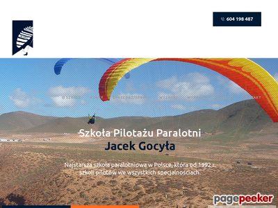 Szkoła paralotniowa - Flyschool