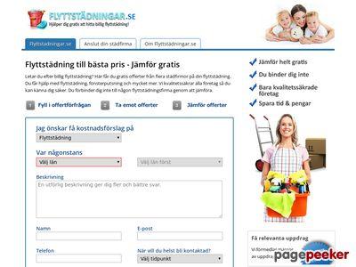 Flyttst�dning till b�sta pris - Flyttst�dningar.se - http://www.flyttstadningar.se