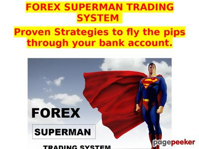FOREX SUPERMAN TRADING SYSTEM 1