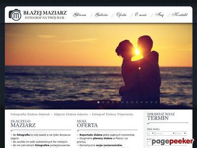 Reportaż ślubny trójmiasto