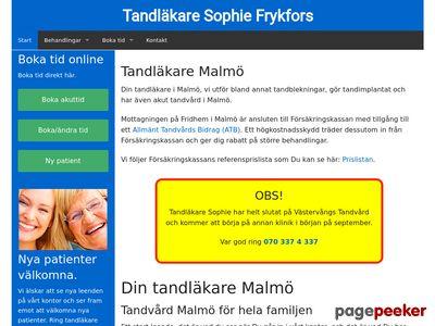 Tandl�kare Malm� - http://www.frykfors.se