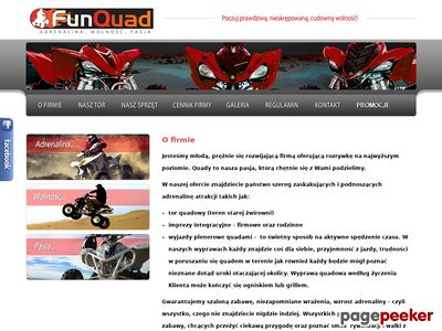 Funquad - wypożyczalnia quadów, paintball
