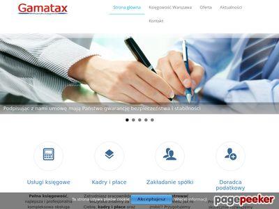 Biuro finansowo-księgowe w Warszawie Gamatax