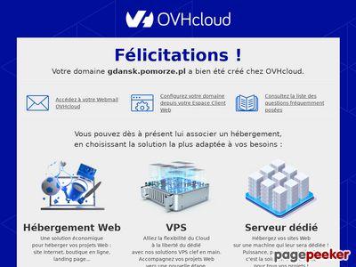 Hosting stron www, serwery internetowe - Gdańsk, Pomorze gdańskie