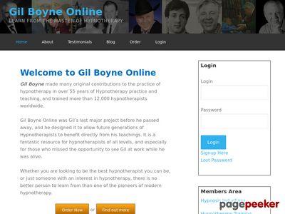 Order Now - Gil Boyne Online 5
