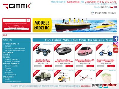 Modele RC - GIMMIK.PL