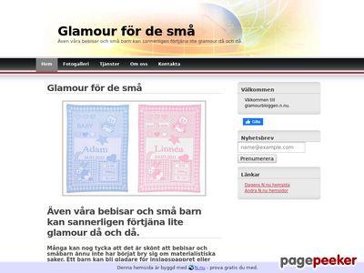 Glamour f�r de sm�. Personlig babyfilt. - http://www.glamourbloggen.n.nu