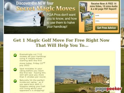 The New Four Magic Moves To Winning Golf Secrets By Andy Anderson 1