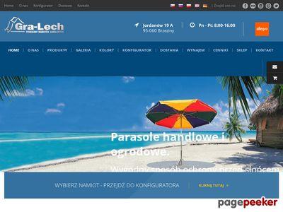 Parasole ogrodowe - gralech.com