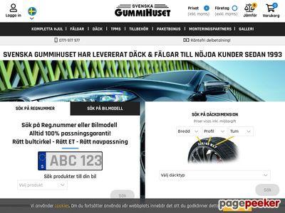 Svenska Gummihuset - http://www.gummihuset.se