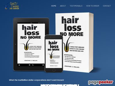 www.hairlossnomore Hair Loss No More, Natural Female and Male Hair Loss Treatment