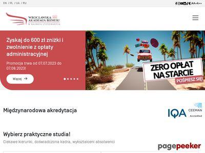 Finanse i rachunkowość Wrocław