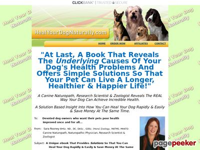 Heal Your Dog Naturally 1