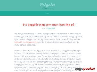 Helgalet.se - Humorsajt med allt galet - http://www.helgalet.se