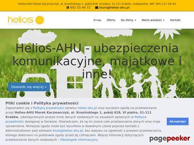 HELIOS KRAKÓW ubezpieczenie firmy Kraków