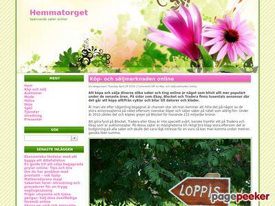 Köp och Sälj på Göteborgstorget - Hemmatorget.se - http://www.hemmatorget.se