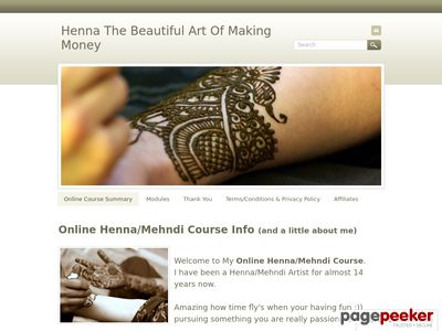 Henna The Stunning Artwork Of Making Cash - Henna Programs and Mehndi Programs On-line. 2