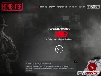 Prywatny detektyw Warszawa Honester Agencja