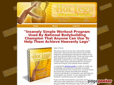 , Sizzling Legs Exercise – A Power Coaching Program for Females for Shaping a Tight and Trim Decrease Physique