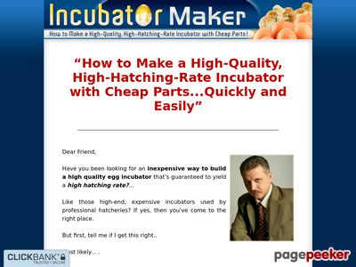 Incubator Maker - How to Make a High-Quality, High-Hatching-Rate Incubator with Cheap Parts! 1