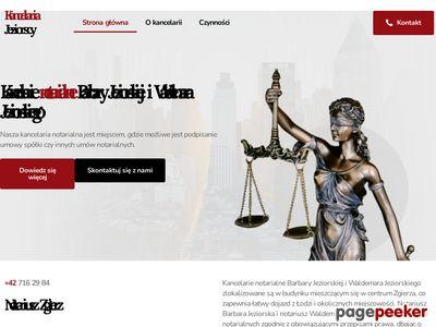 JEZIORSCY czynności notarialne Zgierz