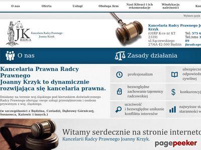Kancelaria prawna Będzin