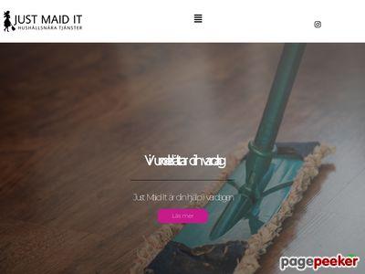 Hemst�d och flyttst�d - http://www.justmaidit.se