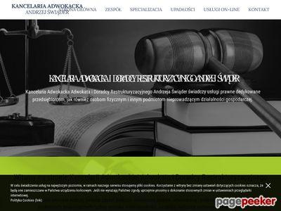 Kancelaria Adwokacka Łódź - Adwokat Andrzej Świąder