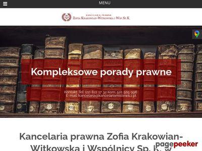 Porady prawne w Warszawie