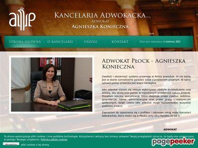 Kancelaria Adwokacka - Konieczna