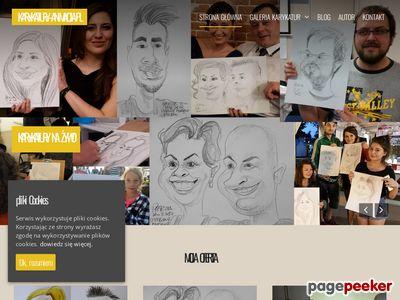 Karykatury i śmieszne filmy