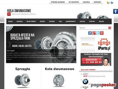 Strona o kołach dwumasowych – KolaDwumasowe.pl