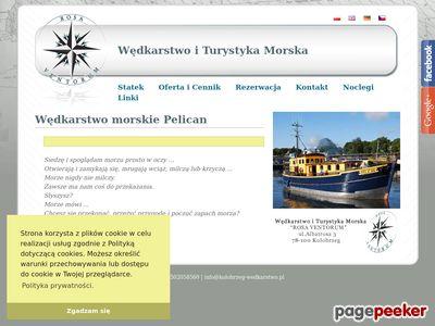 ROSA VENTORUM Połów dorsza Kołobrzeg